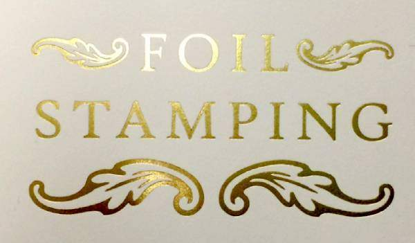 Get Your Wedding Cards Printed Using Hot Foil Stamping for Shiny Finish