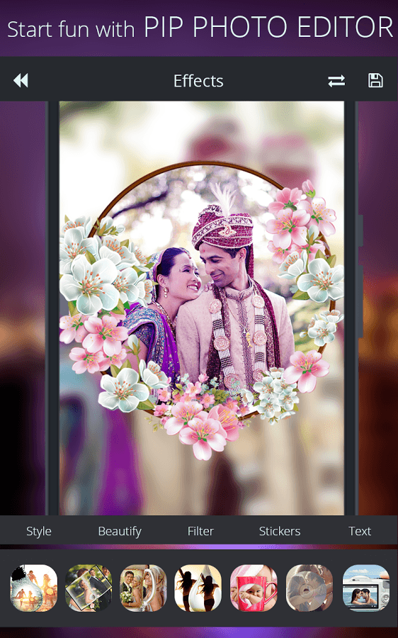 PIP Photo Editor: A Recent Evolution In Photo Editing Application !!