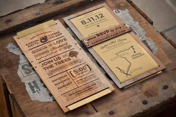 western-wedding-invitations-wooden-wedding-invitations