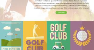 Golf-Html-Template-600x600