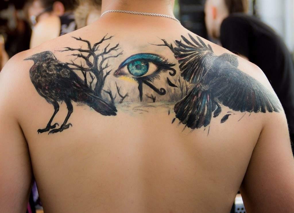 Back Of The Shoulder tattoo