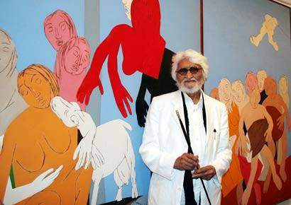 Top 5 Famous Indian Artists Who Reign the Throne of the Art World
