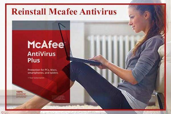 Re install Mcafee Antivirus