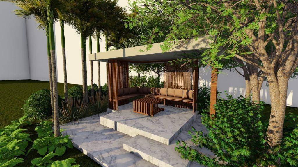Gazebo Design for Terrace