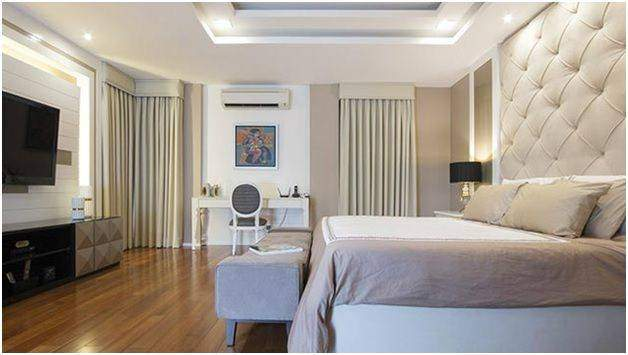 Use of luxurious accessories in the bedroom - Shruti Sodhi Interior Designs