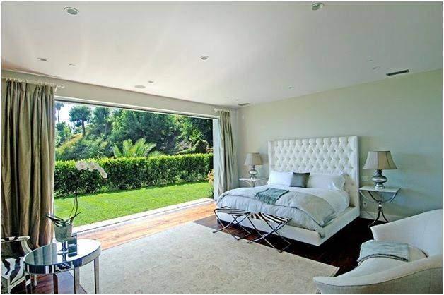 Large window in a bedroom - Shruti Sodhi Interior Designs