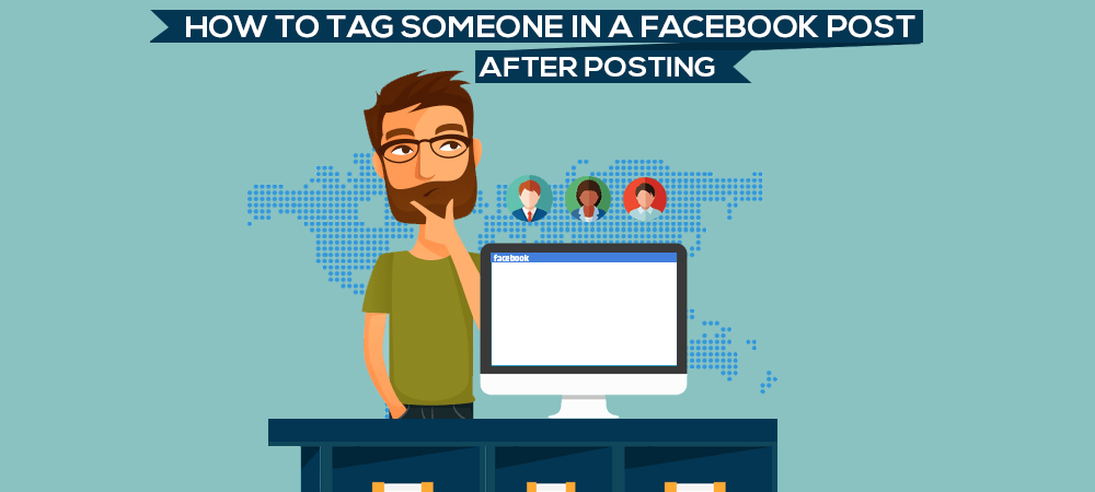 Tag Someone on Facebook After Posting
