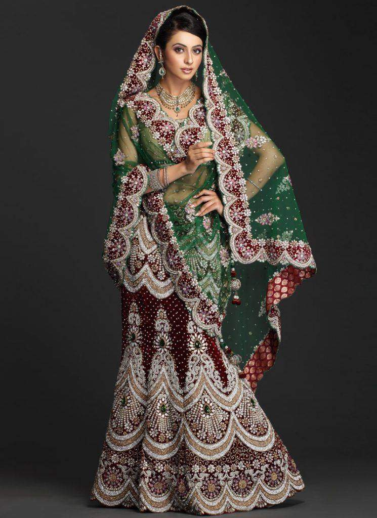 Wedding Gown for Indian Brides