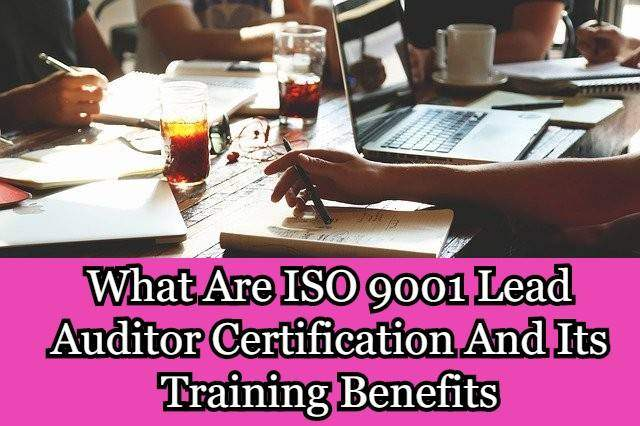 ISO 9001 Lead Auditor Certification