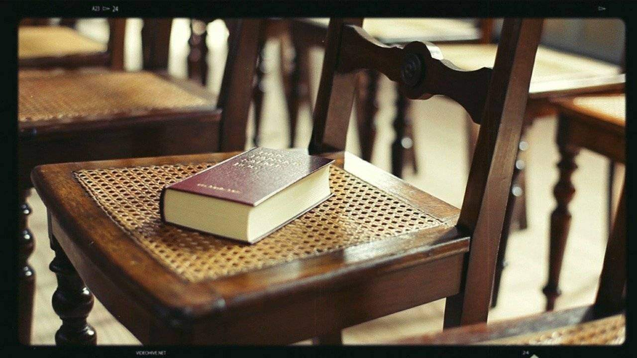 Wooden Oak Chair