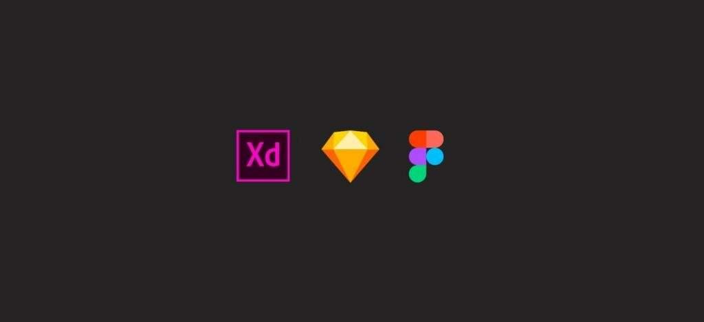 Sketch, Figma, Adobe XD