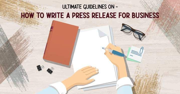 how to write a press release for business