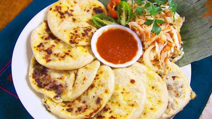 Pupusa: National dish of El Salvador
