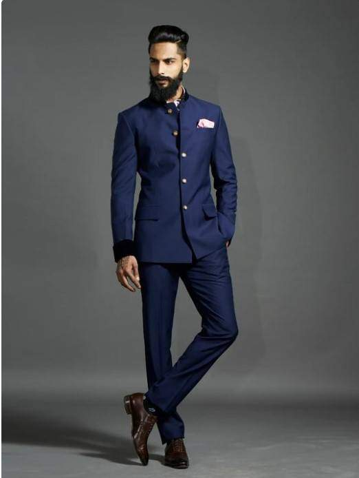 How Pocket Square Enhance the Look of Your Bandhgala Suit?
