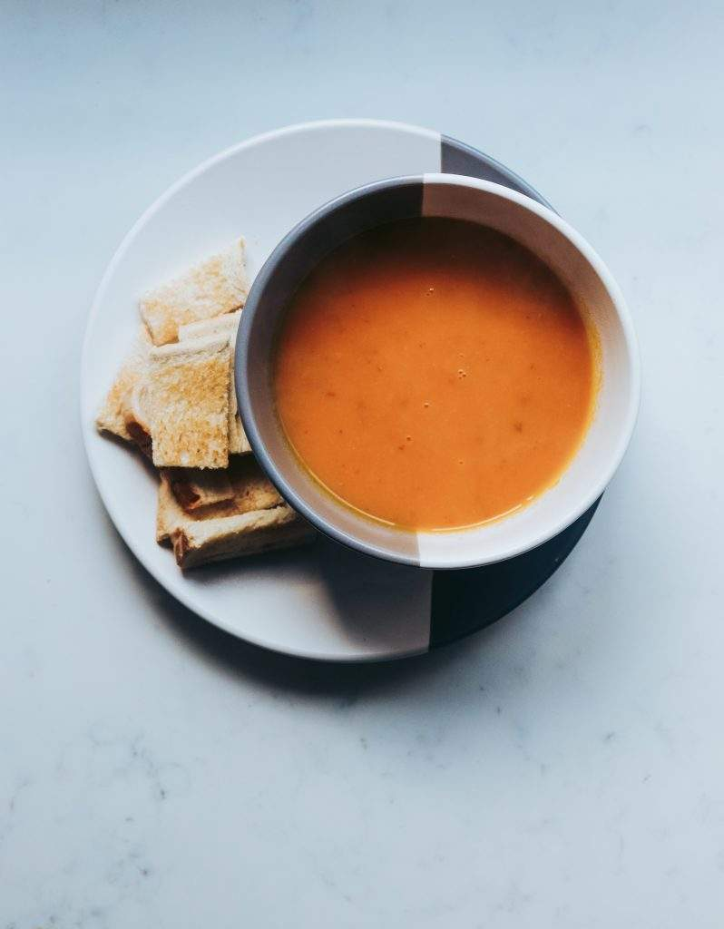 Vegan Gluten-Free Carrot and Coconut Soup