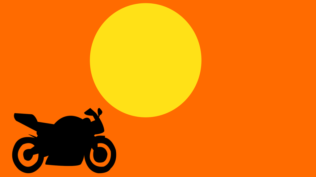 Camping with a Motorcycle