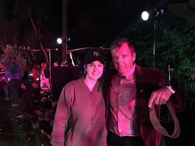 Filmmaker Julia Pacino and Leonard Waldner