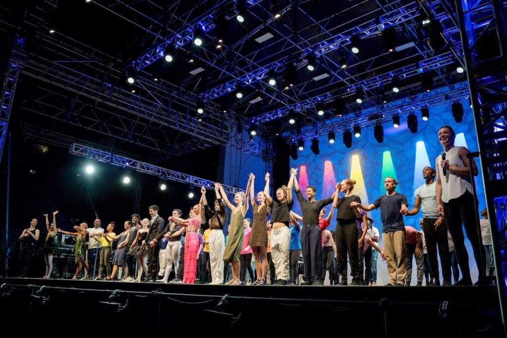 Final bow of the Dance Against Cancer 2021. Photo courtesy of Eric Vitale