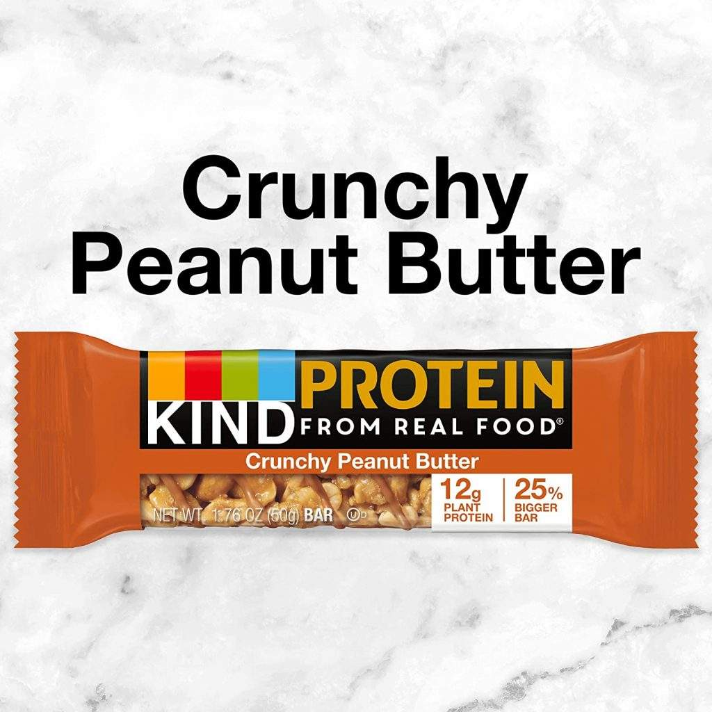 KIND Protein, Crunchy Peanut Butter
