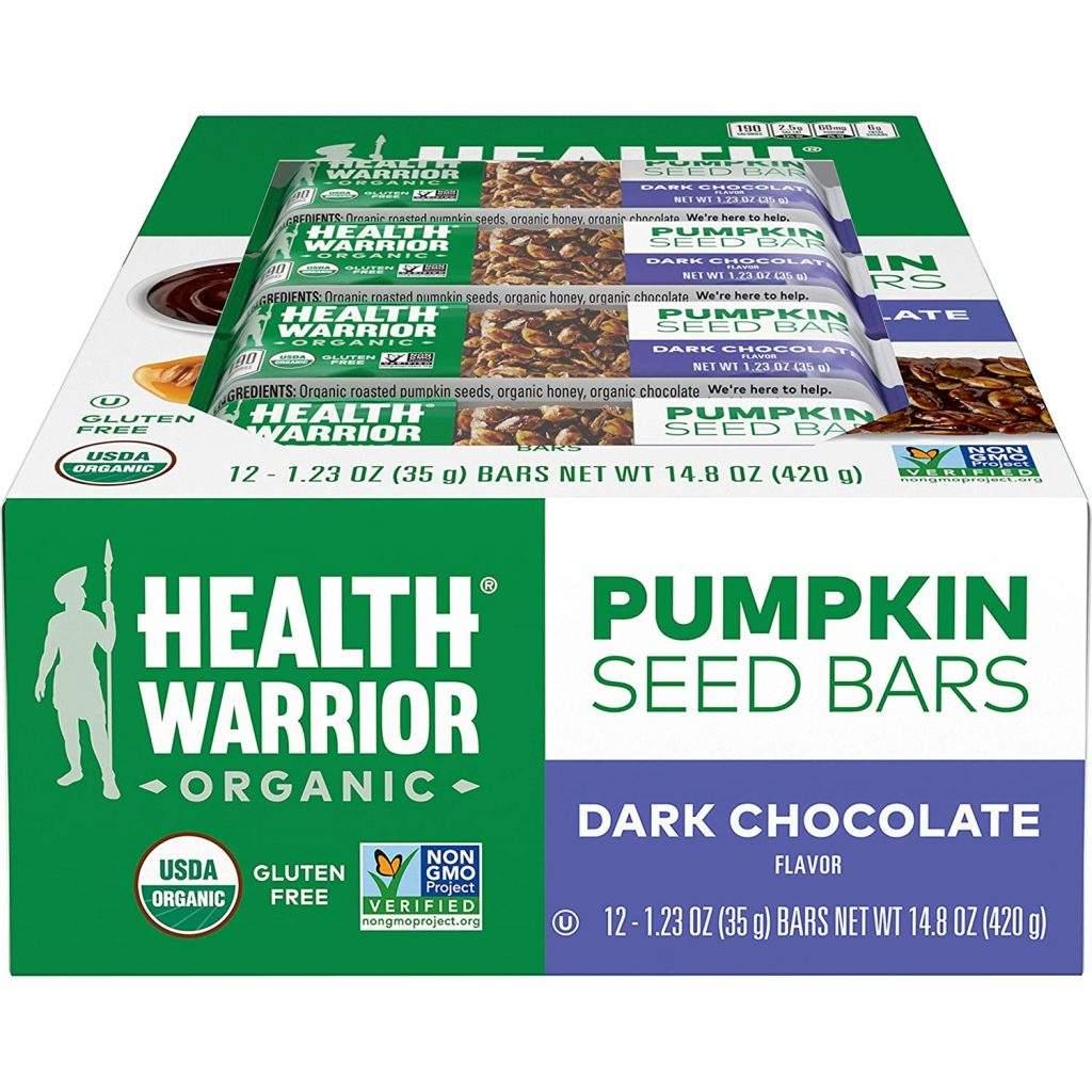 Health Warrior Organic Pumpkin Seeds Bar