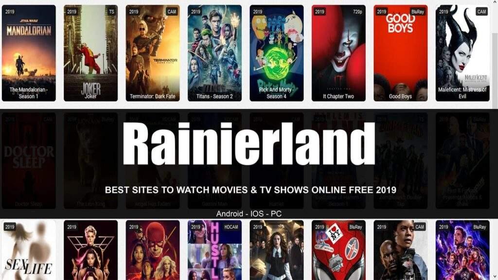 Rainierland Movies