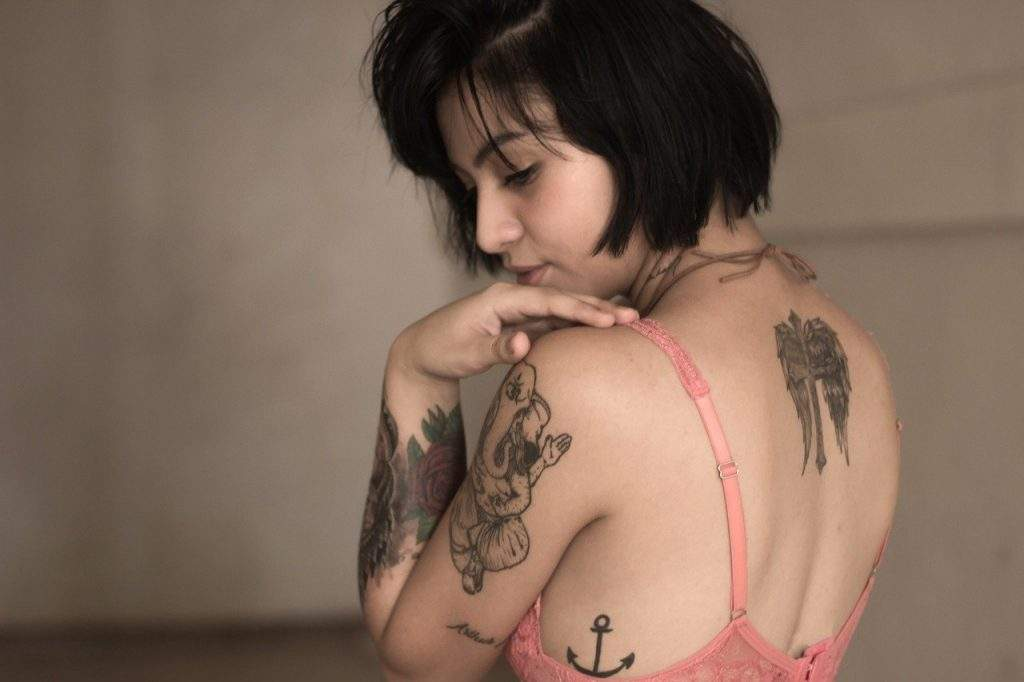 Body Parts of Women to Get a Tattoo